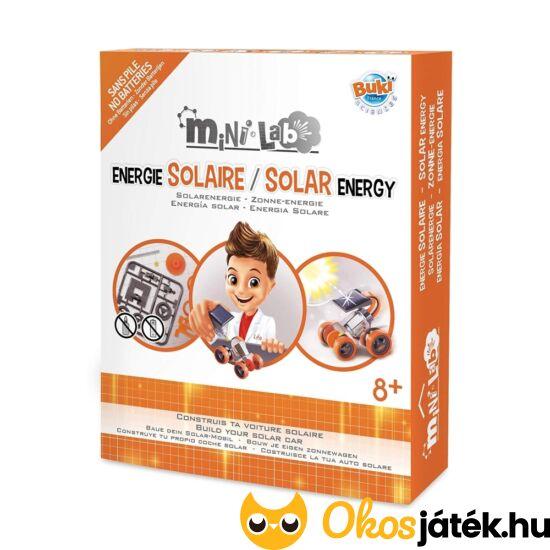 Buki solar energy napelemes kisautó