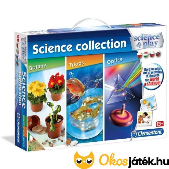Clementoni tudományos készlet: 3 az 1-ben tudományos készlet