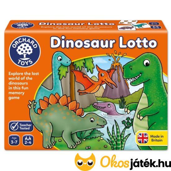 dinoszaurusz lottó játék kicsiknek dínós játék gyerekeknek