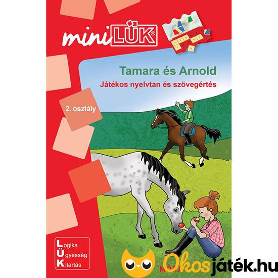 Tamara és Arnold lük füzet 2. osztály nyelvtan és szövegértés