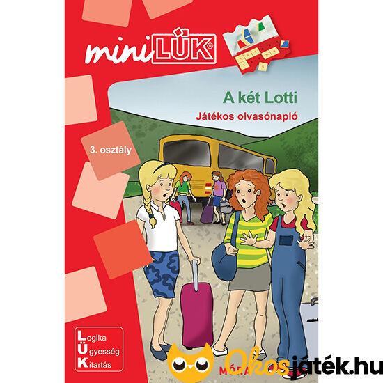 A két Lotti mini lük füzet