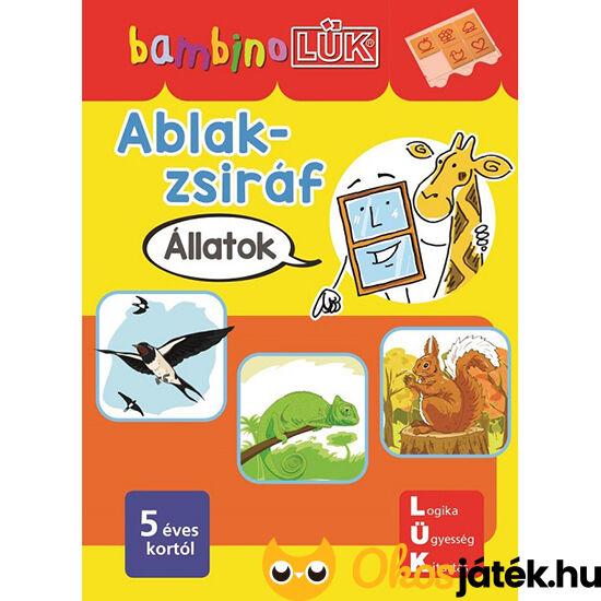 LDI141 Lük Bambino füzet Ablak zsiráf