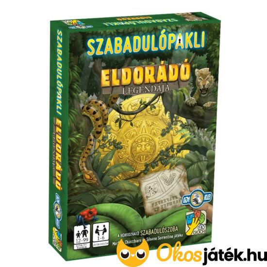 Szabadulópakli Eldorádó legendája szabaduló kártya