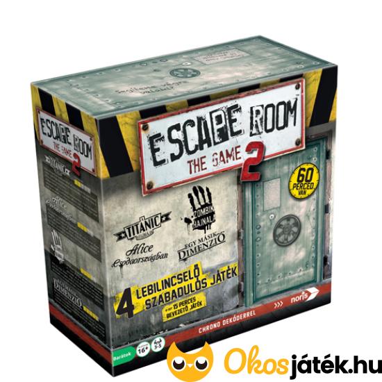 Escape the room 2 társasjáték