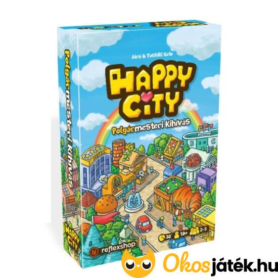 Happy City társasjáték