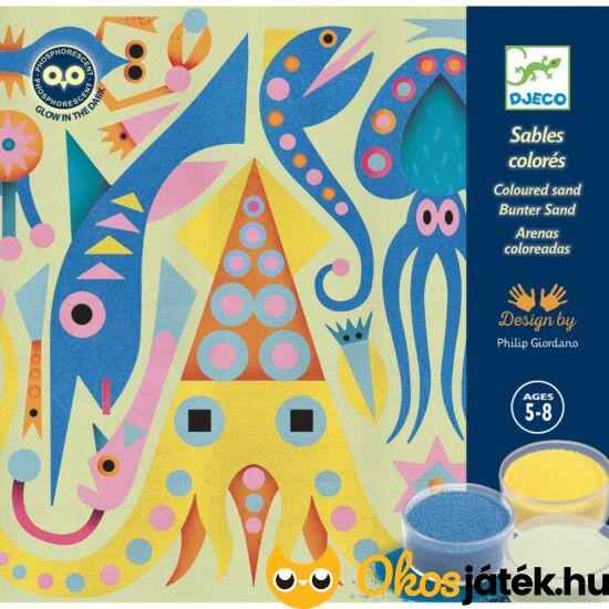 Homokkép készítő - tengeri állatok