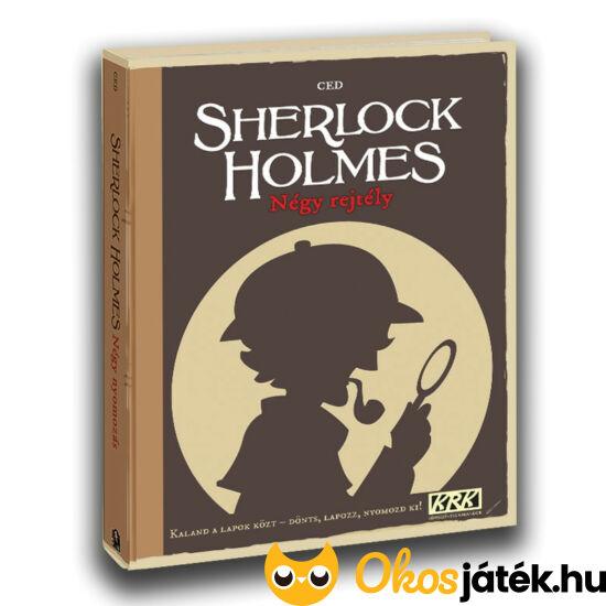 Sherlock Holmes négy rejtély kaland játék kockázat képregény