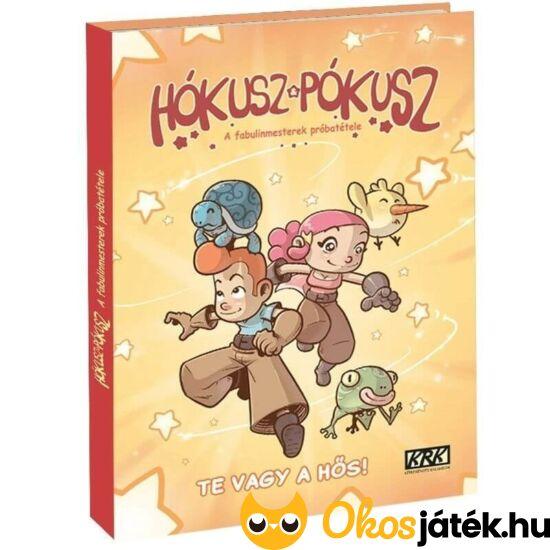 Hókusz & Pókusz - A Fabulinmesterek próbatétele lapozgatós kaland könyv gyerekeknek