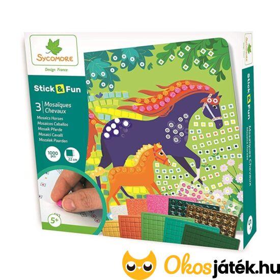 mozaik képkészítő lovak
