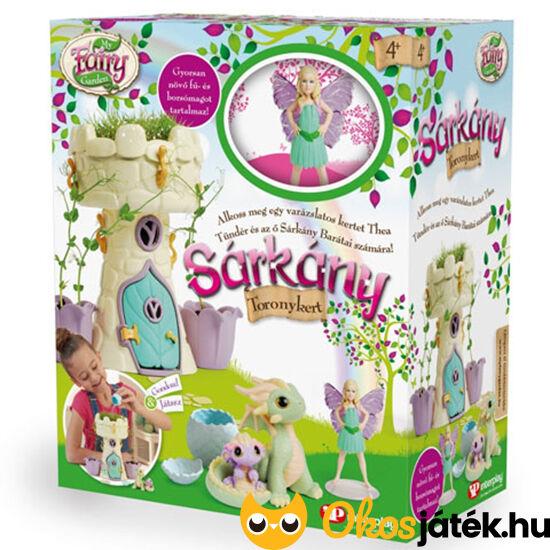 my fairy garden tündérkert sárkány toronykert