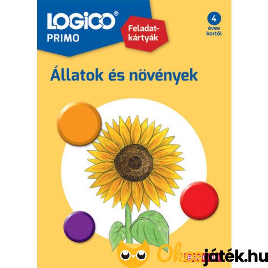 Logico Primo feladatlapok 4 éves kortól állatok és növények