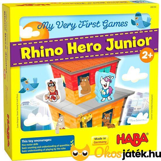 Haba első társasom: Rhino Hero kicsiknek