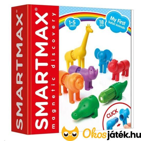 smartmax mágneses játék szafari állatok my first safari