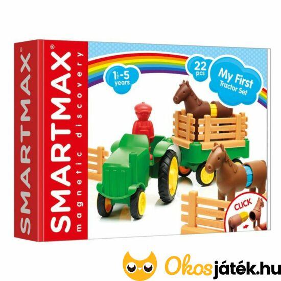 smartmax első traktorom mágneses játék traktoros állatos farm