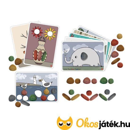 szivárvány kavicsok rainbow pebbles készségfejlesztő játék
