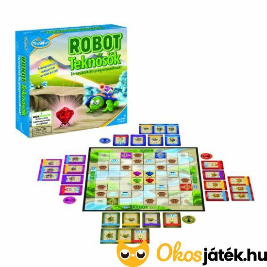 Robot teknősök - Thinkfun társasjáték kis programozóknak (GE)