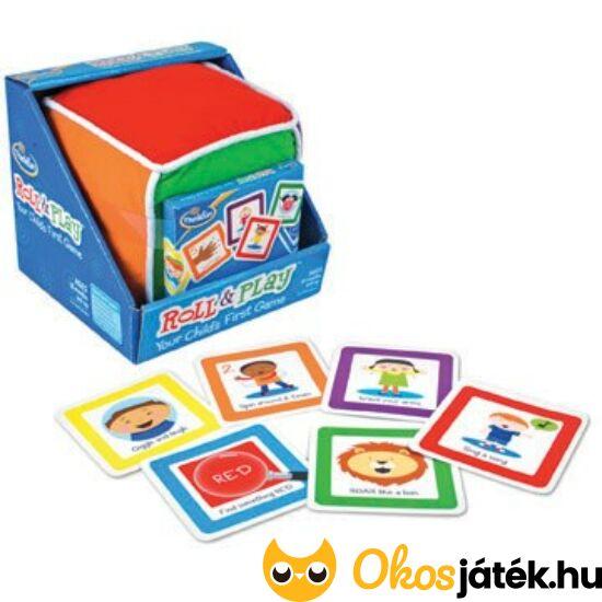 Guríts és játssz - Roll and play - első  társasjáték 18 hótól (802) (KE)