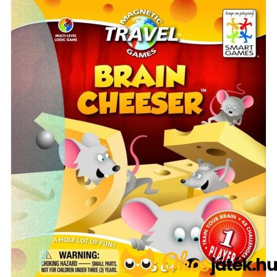 Ementáli (Brain Cheeser) sajtos egeres logikai játék Smart Games (GA)