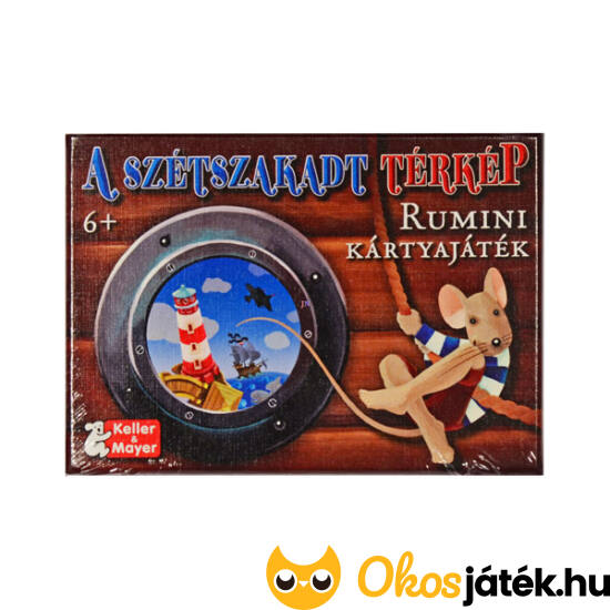 Szétszakadt térkép - Rumini kártyajáték -  Keller & Mayer (KM)