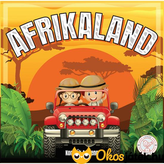 Afrikaland családi társasjáték