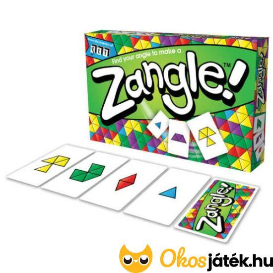 Zangle! kártyajáték térlátást fejlesztő játék