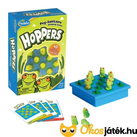 Hoppers - Thinkfun - békás szoliter logikai játék - GE
