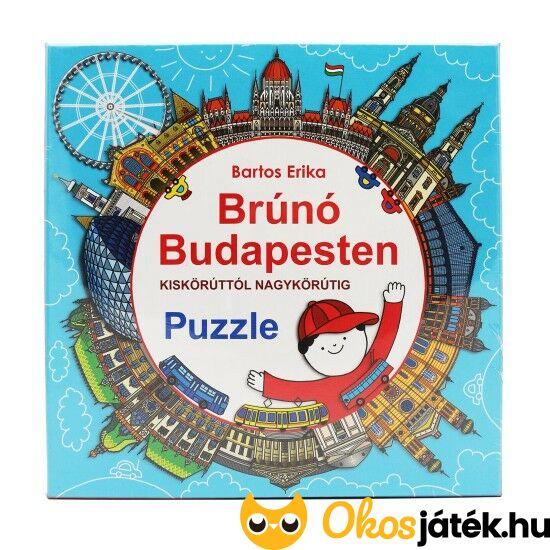 Brúnó Budapesten puzzle