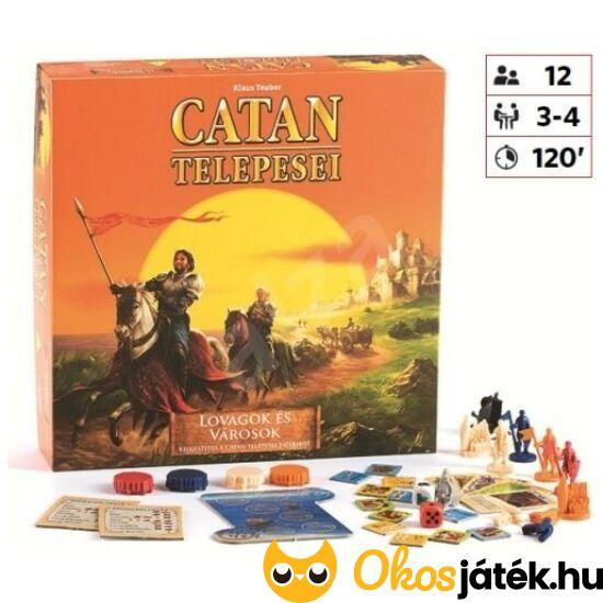 catan telepesei lovagok és városok kiegészítő
