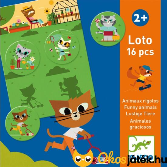 keresd a párját játék Djeco árnyék loto képpárosító lottó játék