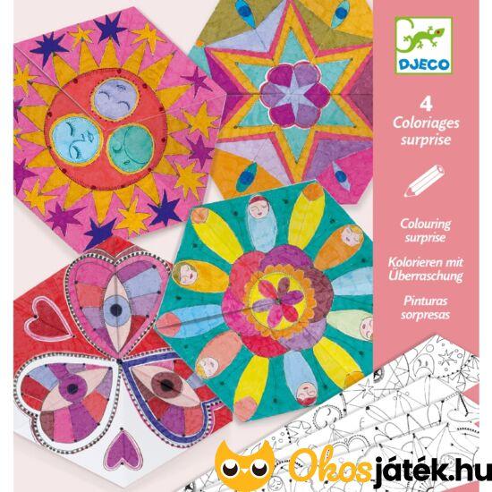 Mandala színező gyerekeknek