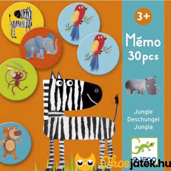 Memo Jungle - memória társasjáték három éves kortól - DJ 8159