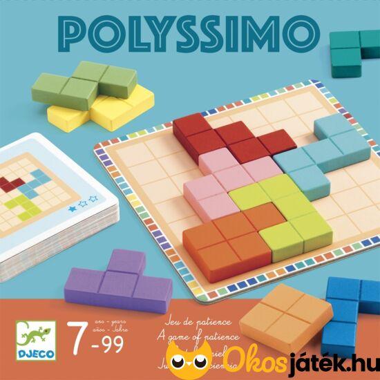Polyssimo fa tetris játék