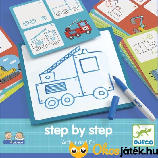 Rajzolás lépésről lépésre - Artur and CO - DJ 8321