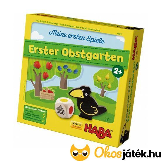 Első gyümölcsöskert társasjáték 2 éves kortól - HABA Erster Obstgarten - HA