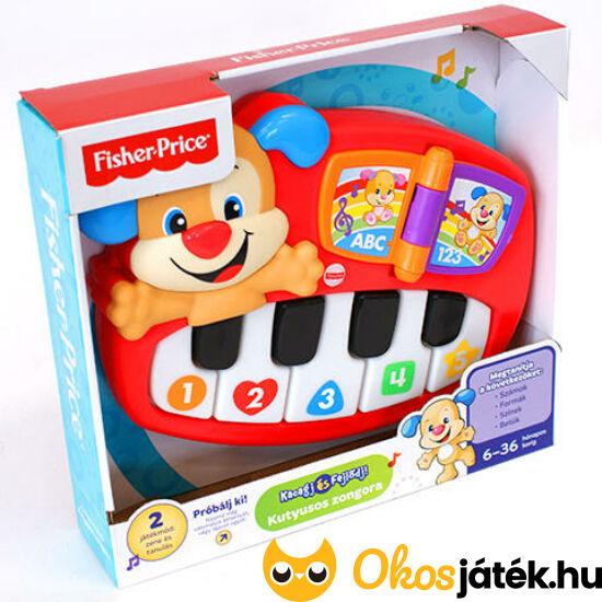 Fisher Price Tanuló Kutyás zongora DLK12