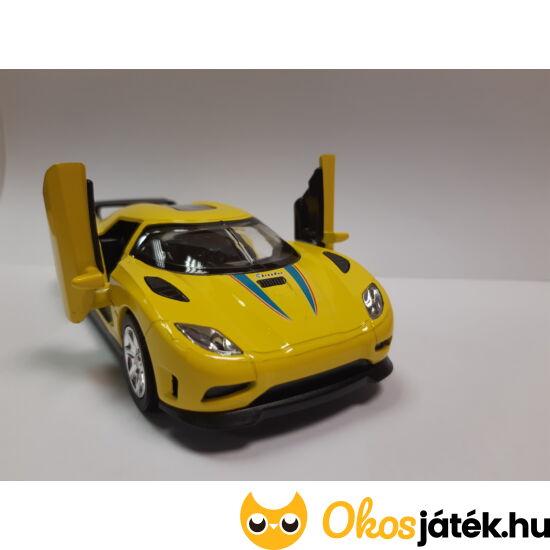 goki sportautó - sárga színben