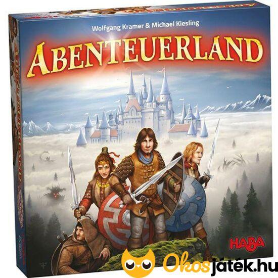 HABA Adventure land Kalandok földje stratégiai társasjáték
