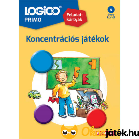 LOGICO Primo feladatlapok - Koncentrációs játékok 3228 4+