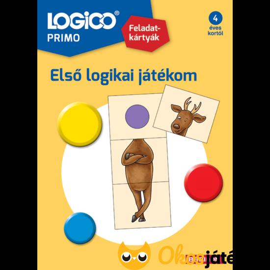 Logico Primo feladatlapok első logikai játékom