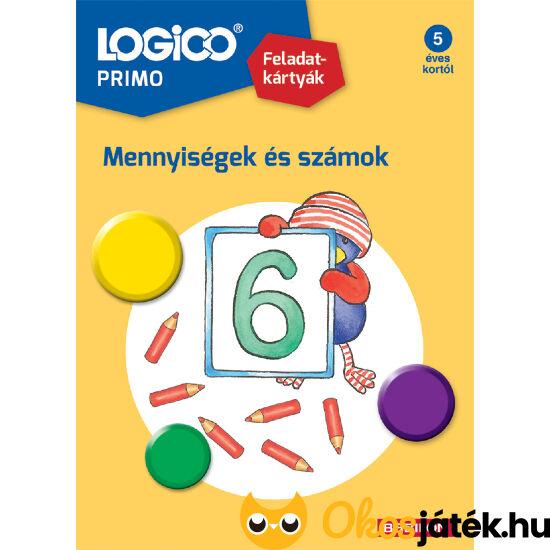 Logico Primo feladatlapok mennyiségek és számok