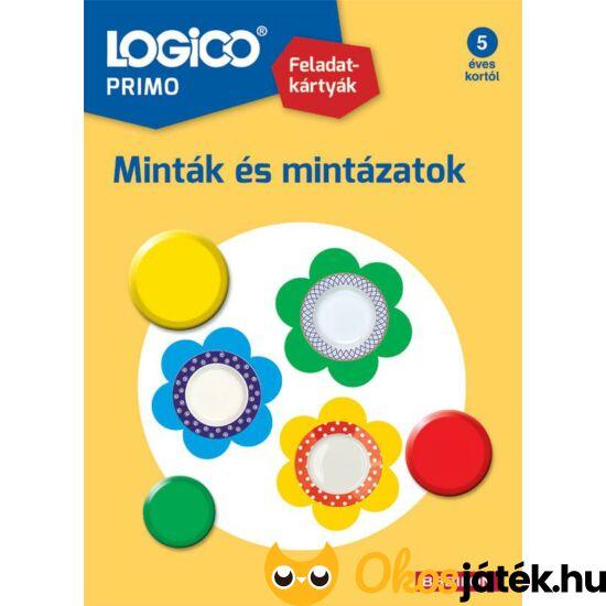 Logico Primo feladatlapok minták és mintázatok