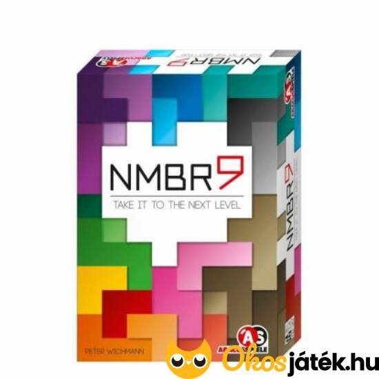 NMBR9 tetris társasjáték