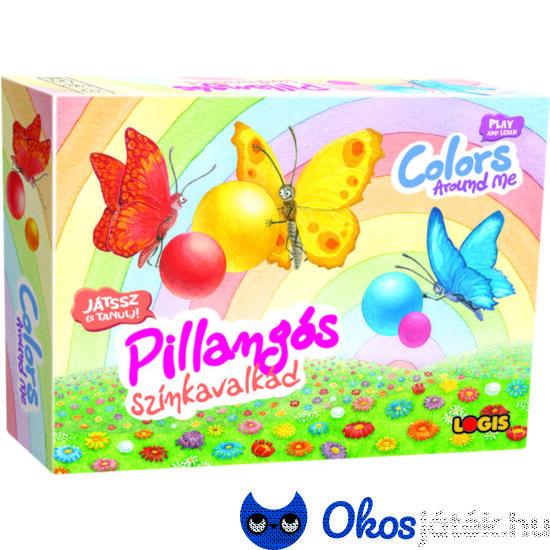 Logis pillangós színkavalkád társasjáték
