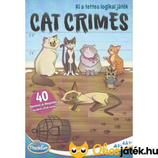 zsivány cicák cat crimes thinkfun logikai játék