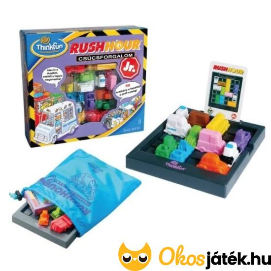 Rush Hour Junior - csúcsforgalom - ThinkFun - logikai játék - GE