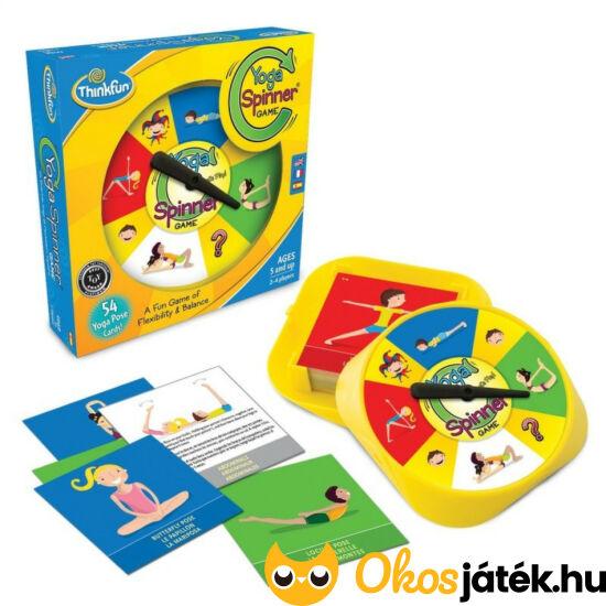 Yoga Spinner - Jóga játék gyerekeknek - Thinkfun - GE
