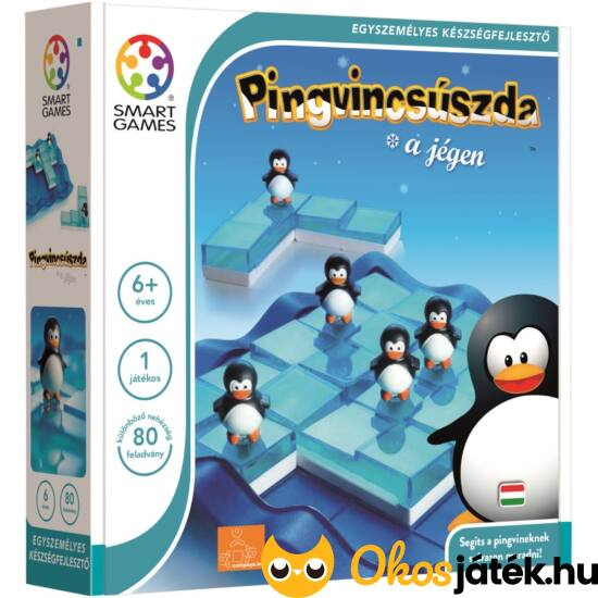 Pingvinek a jégen Smart Games logikai játék - Penguins on ice - GA