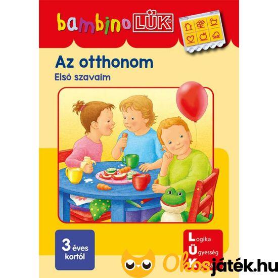 LDI-132 Az otthonom - Eslő szavaim - LÜK Bambino füzet