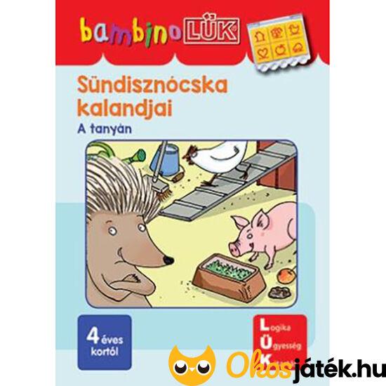 LDI-140 Sündisznócska kalandjai -A tanyán - Lük Bambino füzet