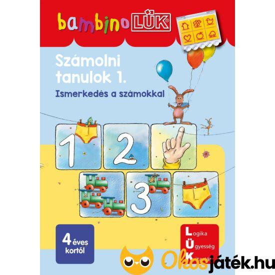 LDI-101  Számolni tanulok 1. -Ismerkedés a számokkal- LÜK Bambino füzet